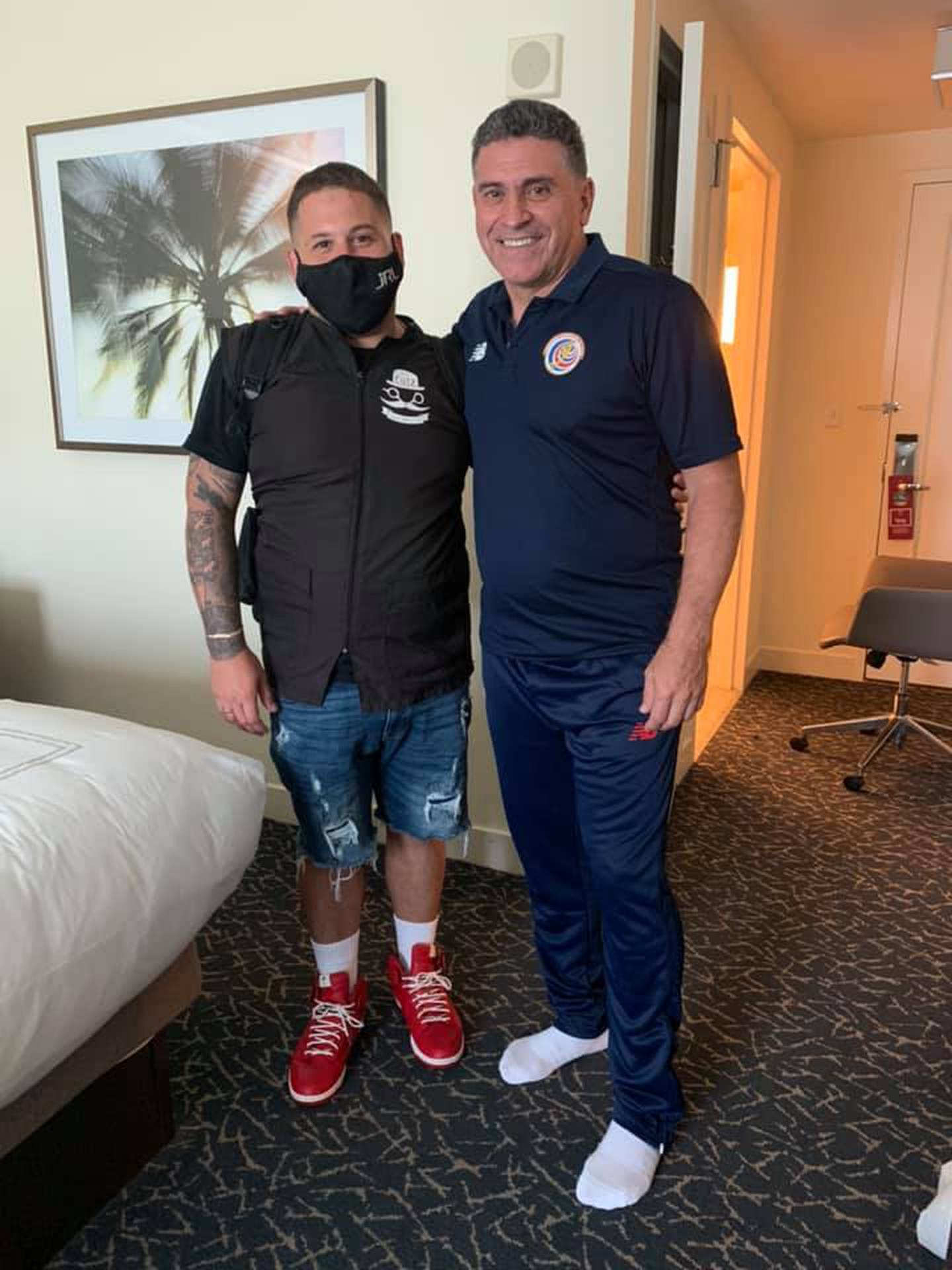 Alex Arrieta, peruano, barbero de la Sele en Orlando City