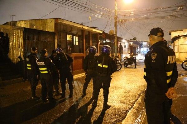 La Fuerza Pública está dando colaboración al ministerio de Justicia para dar con el reo. Foto: MSP.