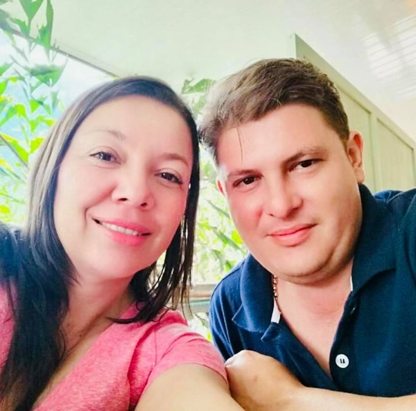 Ligia Naranjo Delgado de 41 años y Francisco Montero Brenes de 34. Foto: Municipalidad de San Vito.