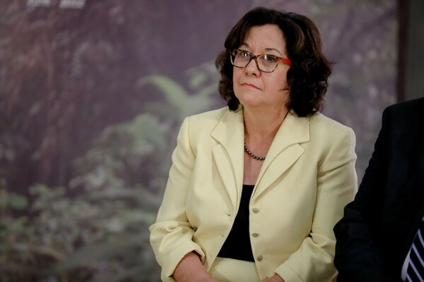La ministra del MEP, Giselle Cruz, abrió una investigación contra la docente. Foto: Roberto Carlos Sánchez