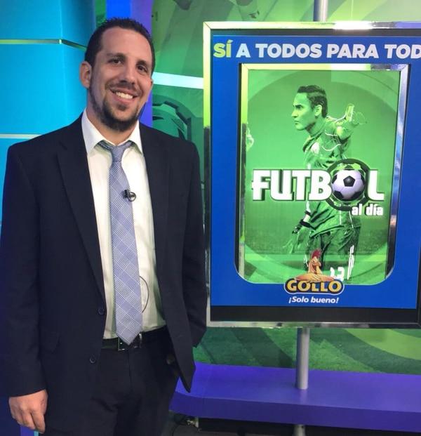 Martín Goldberg le voló duro a los jugadores del Santos y tampoco le parece que su compa Johnny González haga el album de Panini. Foto Facebook Martín Goldberg