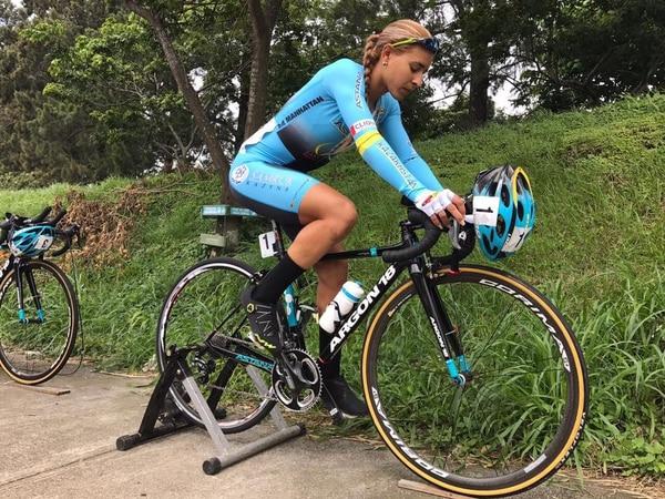 Arlenis Sierra gana prólogo de la Vuelta Ciclística a Costa Rica