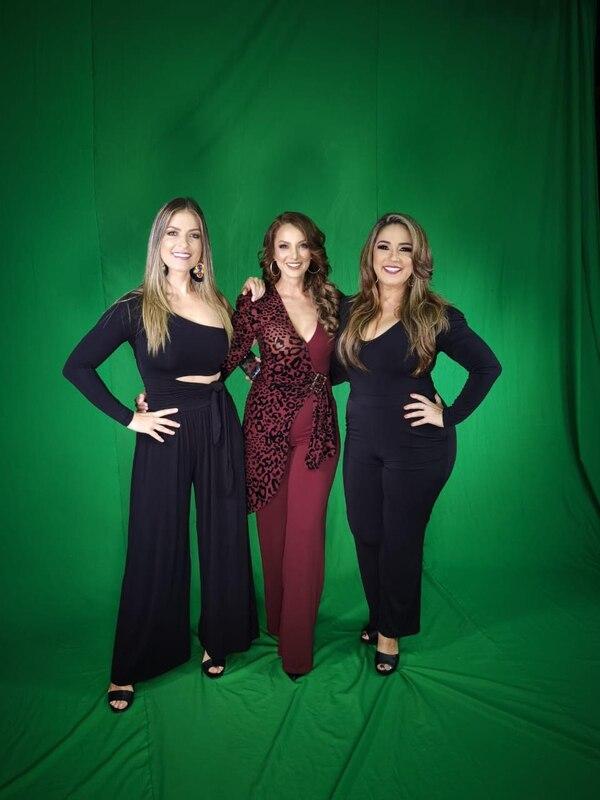 El nuevo Divas 2.0 inicia este lunes con la participación de Viviana Calderón, Verónica González y Maureen Salguero. Foto: Cortesía Multimedios.