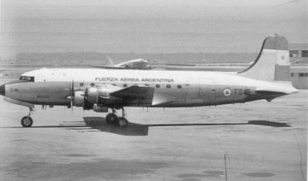 El avión argentino TC-48 desapareció en 1965.