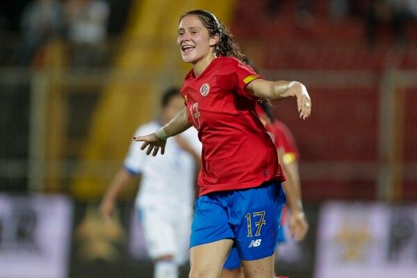 María Paula Salas sería de las ticas que tendría el privilegio de jugar un Mundial en casa. Fotografía José Cordero
