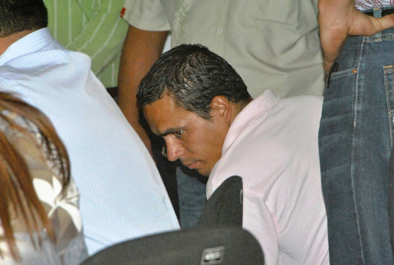 Olger Vásquez Sibaja, condenado a 142 años de cárcel por encerrar a cuatro personas dentro de un contenedor y quemarlos vivos en Herradura, Puntarenas. Foto Archivo.