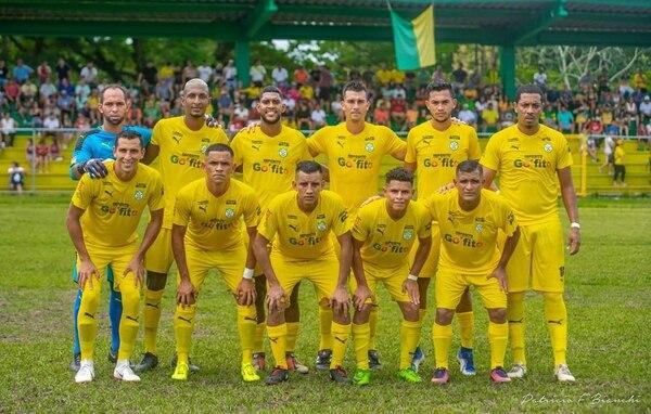 Carrillo jugaba en Puerto Golfito F. C. desde junio pasado. Foto: Cortesía de Diego Serrano.