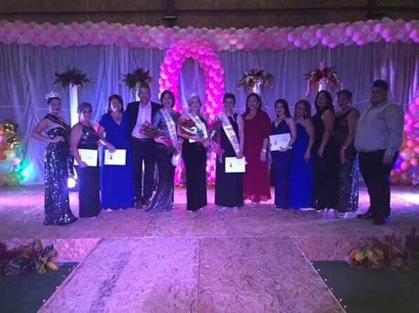 La gala estuvo lindísima y terminó con el triunfo de Yorleny Picado. Foto: Lluvias de Esperanza