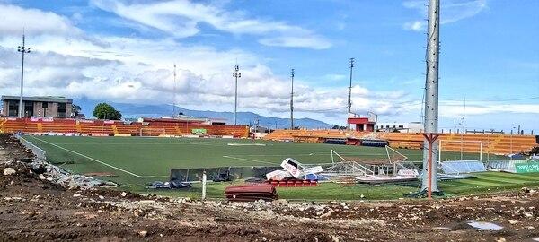 La remodelación del Rosabal Cordero no fue factor para que el Team no llegara a la final. Fotografía: Carlos Lobo