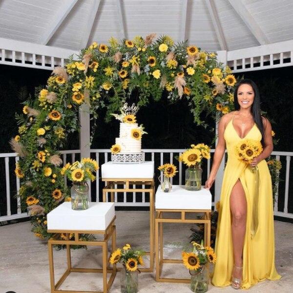 A inicios de marzo Marcela Negrini tuvo una despedida de soltera con todos sus familiares y amigos en Guápiles porque ya sabían que no se iban a poder casar en el país. Instagram