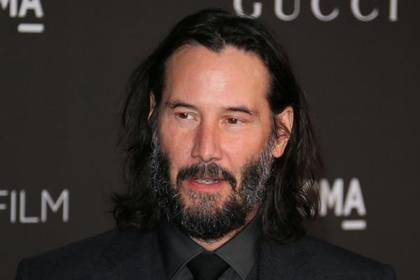 El canadiense Keanu Reeves se ganó el reconocimiento de todos por su protagonismo en la película Matrix. AFP