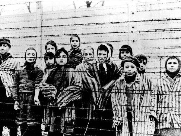 Hasta los más pequeños pasaban malos ratos en los campos de concentración nazi. Foto: Archivo GN