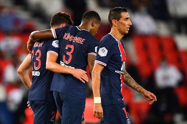 El Paris triunfó con gol agónico. AFP