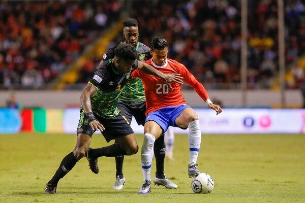 Costa Rica y Jamaica jugaron por última vez en marzo del año pasado en un amistoso en el Estadio Nacional. Fotos: Mayela López