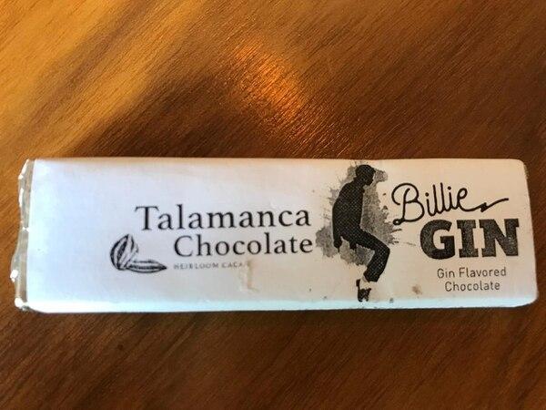 El gin tonic inspiró este producto de Talamanca Chocolate. Foto: Cortesía Andreas Cordero