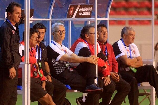 Con Benito Floro Alajuelense tuvo un breve paso en la primera edición de la Liga Concacaf . Foto: Rafael Pacheco
