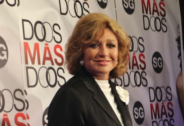 Angélica María, actriz. Archivo GN