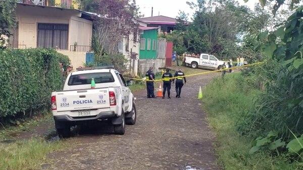 En esta calle apareció el cuerpo de Alvarado. Foto de Archivo