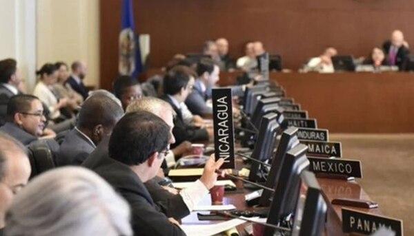 Una sesión extraordinaria del Consejo Permanente tomó la decisión. Foto: La Prensa de Nicaragua / Con fines ilustrativos