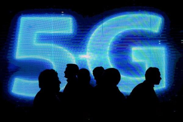 Varias empresas se encuentran en una lucha abierta por ser pioneras en la implementación de redes 5G. Foto: AFP.