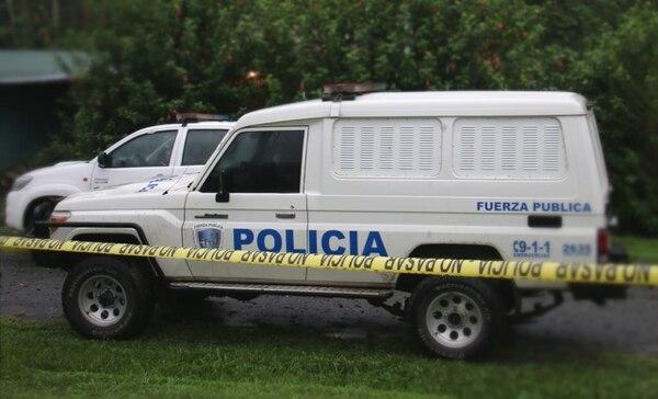 Giovanni Felipe Muñoz Valverde, de 38 años, murió en el hospital de Guápiles cuando era atendido por los médicos. Foto: Reiner Montero