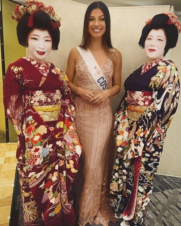 Tamara pasará tres semanas en Japón. Foto: Facebook.