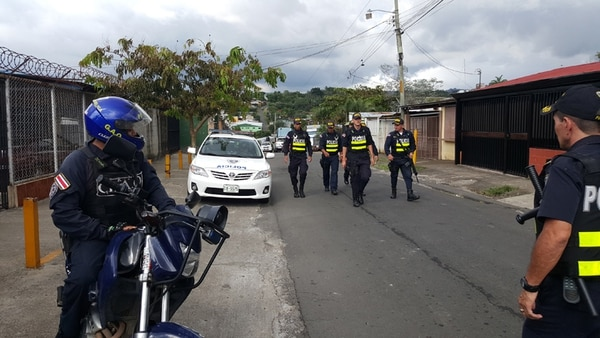 El Infiernillo es un barrio muy conocido por la Policía, ya que se da mucha venta de droga. Foto: Francisco Barrantes / Archivo.