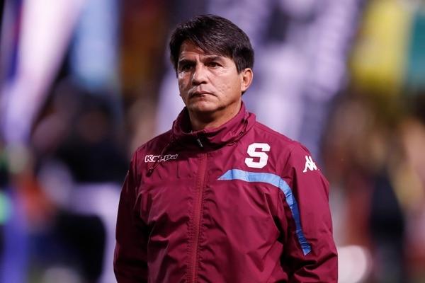 Quesada habló por primera vez de la polémica alrededor del gol que anotó Saprissa en el primer choque de la final. Fotografía José Cordero