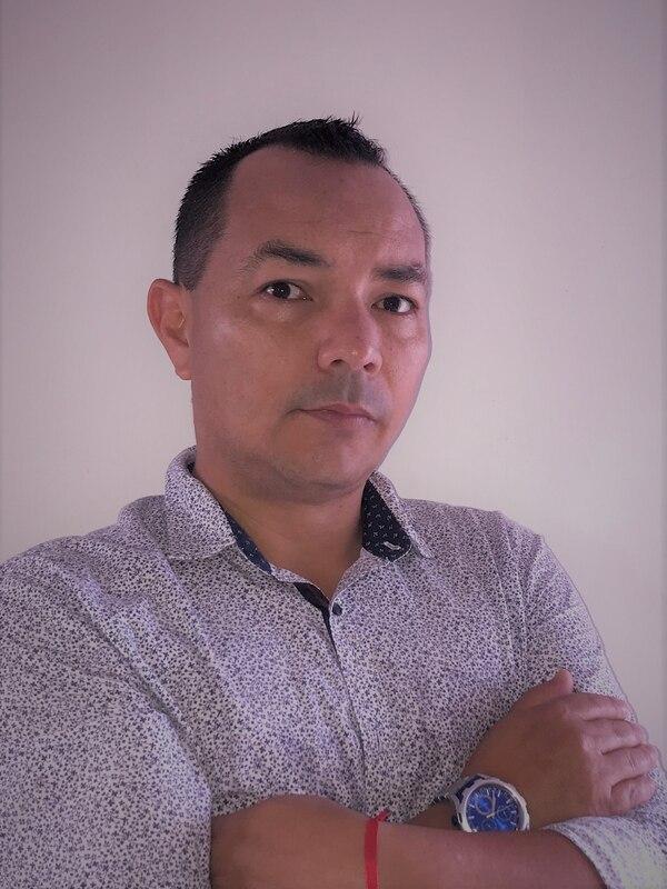 Jorge Díaz estudió periodismo y ha trabajado con equipos como Pachuca, Uruguay de Coronado y Herediano. Cortesía.