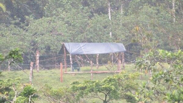 En la finca hay varios ranchos de estos como el que sale en el video. Foto: E. Chinchilla