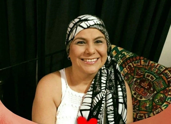 La valiente mantuvo una actitud positiva durante todo el tratamiento. Foto: Cortesía de Xinia Vásquez.