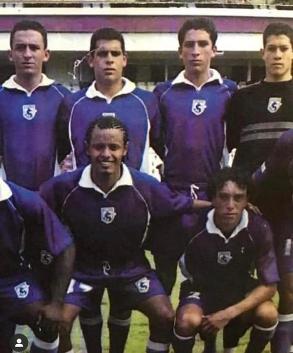 Johnny Acosta hizo las ligas menores en Saprissa. Foto: Saprissa.