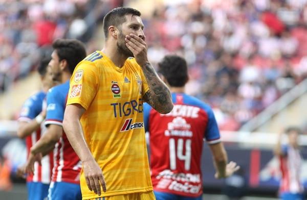 Gignac es conocido en nuestro país porque nunca ha venido jugar con Tigres las mejengas de Concachampions ante Saprissa y Herediano. AFP