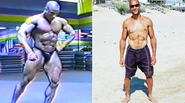 Increíble cambio el del atleta. Foto: Facebook John DePass