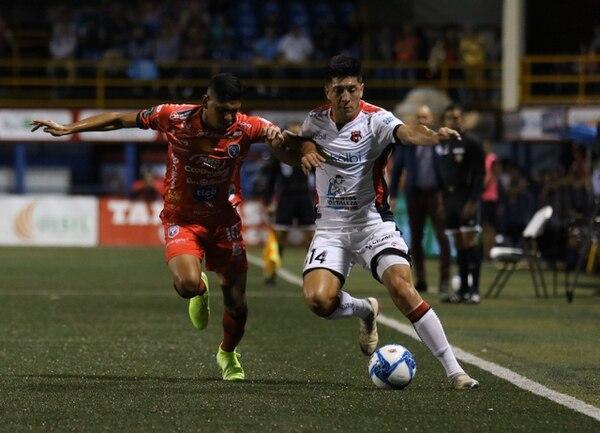 San Carlos le metió un golpe por 3-1 a la Liga hace apenas tres semanas. Prensa Alajuelense/ Rúben Murillo