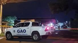 Hombre muere tras recibir balazo en la espalda en Alajuela
