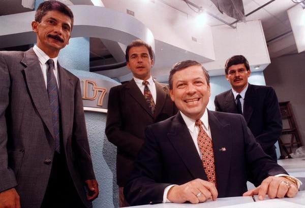 Don Mario tuvo a su mando periodistas como Luis López Rueda, Jorge Alberto Rodríguez y José Ángel Monge. Archivo.