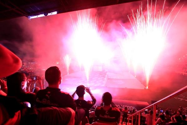 22/06/2019 Estadio Alejandro Morera Soto, Alajuela. Festejo del centenario de Liga Deportiva Alajuelense. Foto: Rafael Pacheco