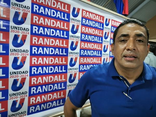 Randall Chavarría Matarrita, alcalde de Puntarenas 2016-2020 y aspirante por el PUSC en 2020-2024. Foto: Tomada de Facebook