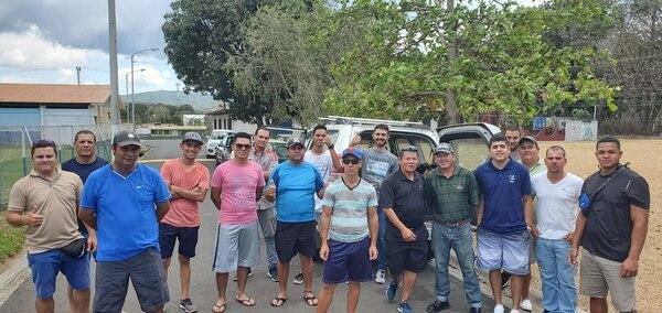 44 familias se beneficiaron con las donaciones. Foto: Cortesía
