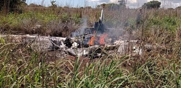 Accidente aéreo, club Palmas y Regatas de Brasil