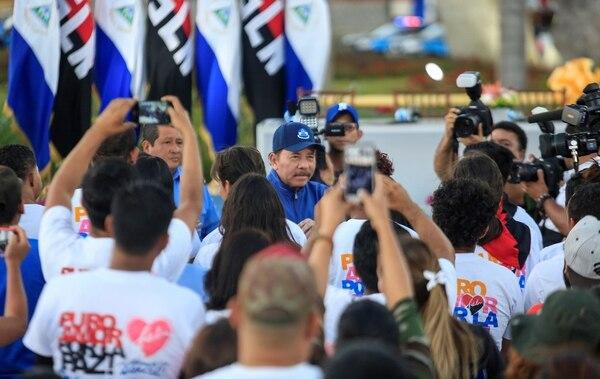 La crisis en Nicaragua está cerca de cumplir un año. Foto AP