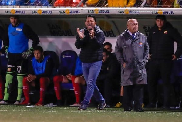 Soto empezó a reclamar y reclamar y, es probable que este miércoles por la mañana lo siga haciendo. Foto José Cordero.