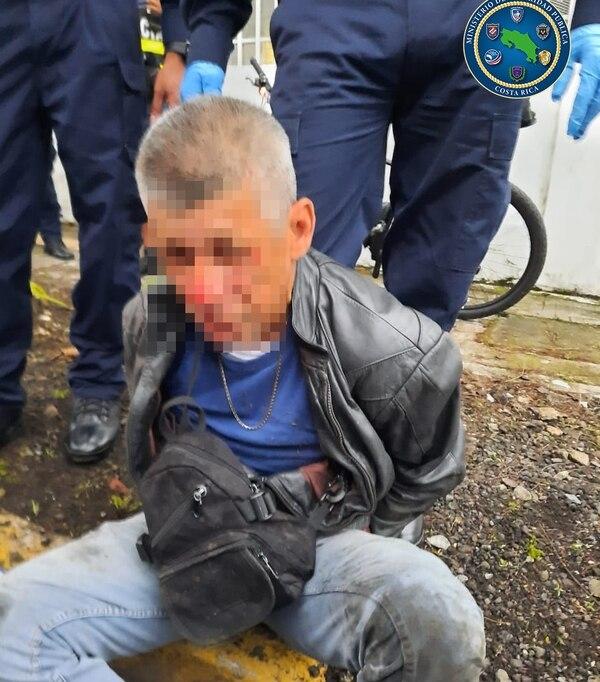 Rojas es un viejo conocido de las autoridades. Foto MSP.