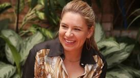 Claudia Dobles está feliz por los presones en la ruta 27