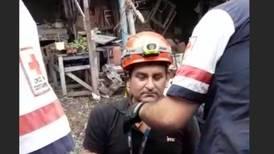 """Sobreviviente de caída: """"Gracias a Dios llevaba el casco, si no me destapo"""""""