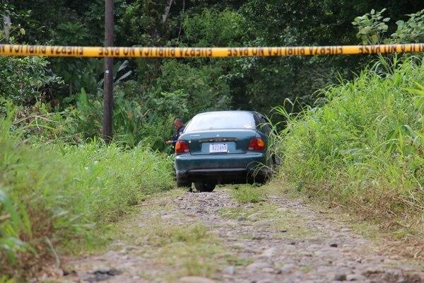 Hernández fue asesinada de un balazo dentro del carro que usaba para trabajar. Foto Reyner Montero/Archivo.