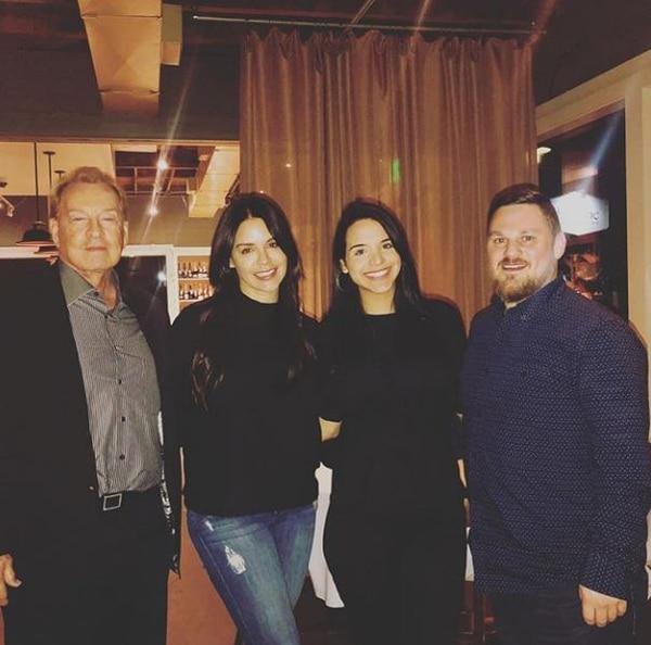 Nicole, la hija mayor de Lynda Díaz, se casó con un gringo oriundo de Texas. Instagram
