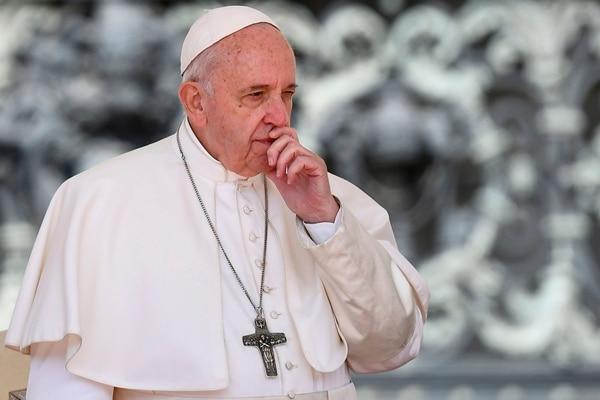 Este jueves 9 de mayo el papa Francisco se socó la faja bien duro contra los abusos sexuales contra menores de edad. Foto AFP.