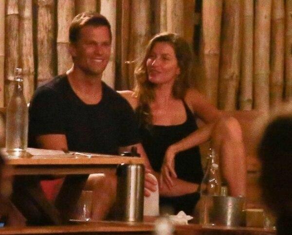 Tom Brady y Gisele Bündchen disfrutaron al aire libre de una deliciosa comida en uno de los restaurantes de Santa Teresa. Page Six
